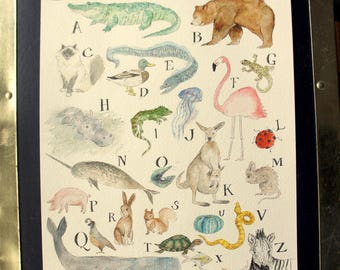 Animals of the Alphabet