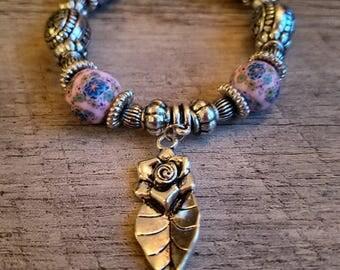 Handmade Beaded Stretchy Bracelet