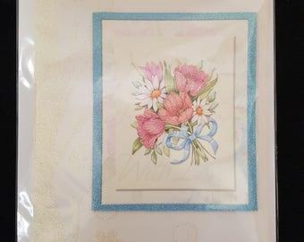 Handmade Flower Greeting Card