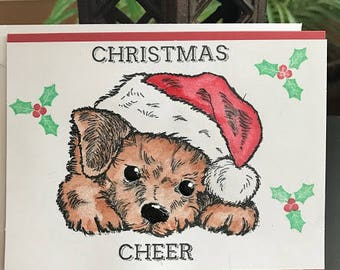 14  christmas cheer dog