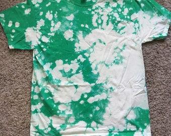 Green Bleach Dye
