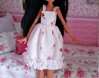 Monster high doll clothes pretty floral dress
