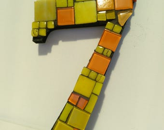 Mosaic House Number  7