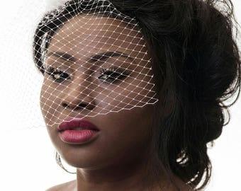 Bird cage veil, wedding fascinator, Special Occasions, fascinator, bridal veil, fascinator