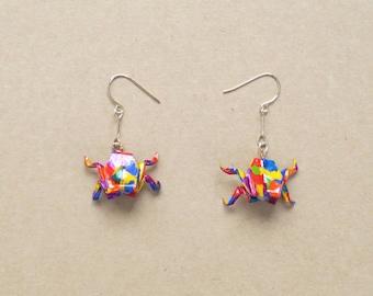 Froggy earrings