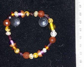 Earthy Orange Tones Bracelet