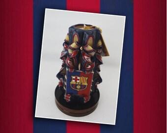 "Barcelona FC. men and women, 5""- 6,5""- 8,5"" ,camp nou, catalán"