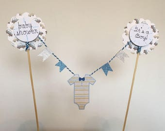 Baby boy washing line
