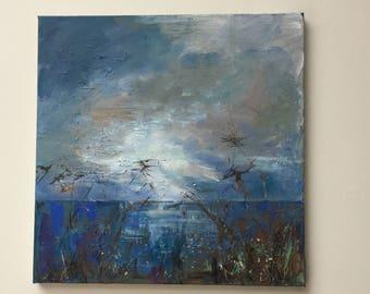 Original painting 'Norfolk water'