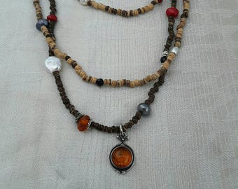 Wild forest necklace