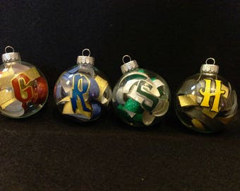 Hogwarts House Inspired Ornaments