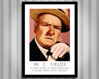 W.C.Feilds, motivational, Inspirational, Self Development, Personal Development, Poster