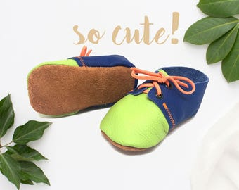 Reveal booties, pregnancy announcement, pregnancy reveal, baby gift, baby shower gift, birth announcement, new baby gift, genuine leather
