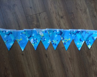 Hand made Fabric bunting