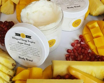 Whipped Tangy Tropics Sugar Scrub // Body Care Product