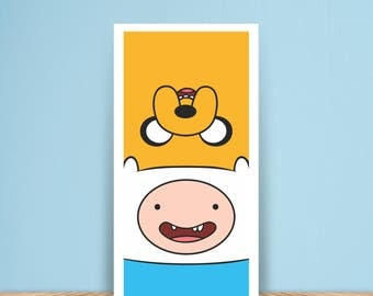 Adventure Time - Finn and Jake Poster