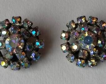 1950's Vintage Rhinestone earrings