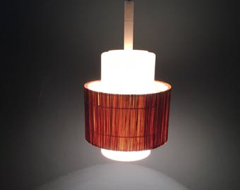 Pendant luminaire from the 60s. Pendant   German quality.