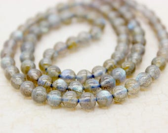 Labradorite Round Gemstone Beads (2mm 4mm 5mm 8mm)