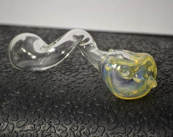 Yellow Curvy Pipe