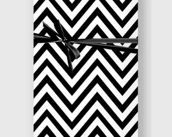 Modern Chevron Wrapping Paper, Digital Gift Wrap, Minimal Gift Wrap, Wrapping Paper, Holiday Wrap, Printable Wrapping Paper, DIGITAL FILE