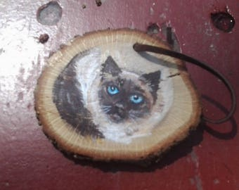 Custom Painted Cat Ornament from your photo