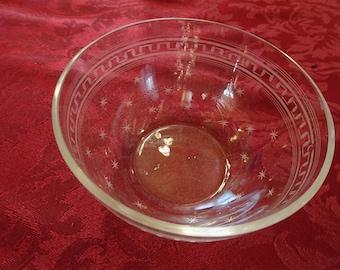 6 Vintage Glass Bowls