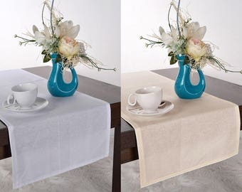 Cotton table runner wedding table runner decor handmade party table decor table centerpiece table decoration wedding linens Cotton fabric