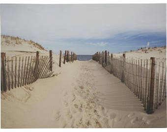 Sandy Beach Photographic Print on Wrapped Canvas