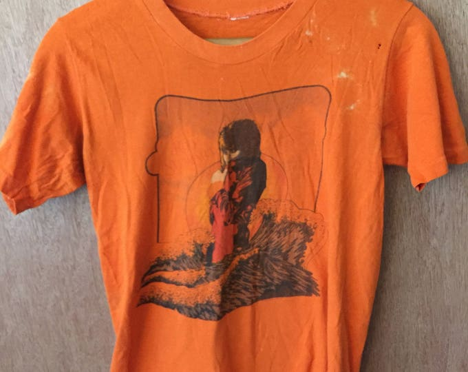 Rod Stewart Vintage 1975 Promo Atlantic Crossing Tee