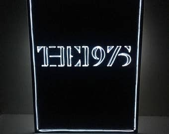 The 1975 neon sign