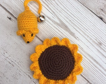 Cute Cat Toys - Mouse Cat Toy - Catnip Flower - Cat Toys - Catnip Toys - Cat Toy - Pet Accessories - Unique Cat Toys - Flower Cat Toy