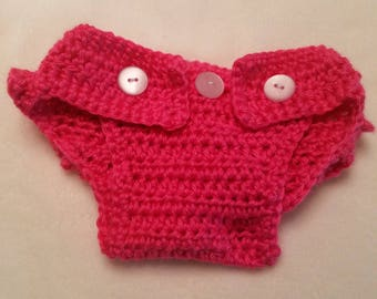 Ruffle Bum Crochet Diaper Cover