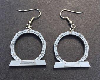 Stellar Hoop Earrings