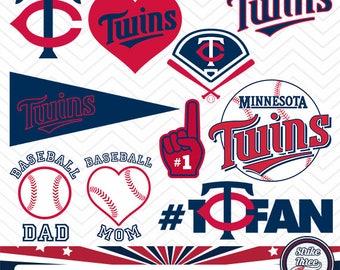 Minnesota Twins baseball team, baseball league, baseball logo, STS-017