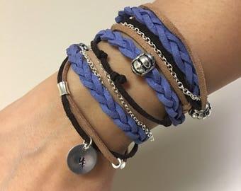 Layered Wrap Around Boho Bracelet