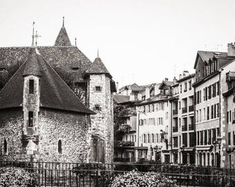 Annecy Printable Digital Art Prints Decor, France Photography, Instant Wall Art, Affordable