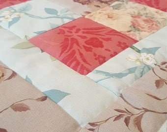 Beautiful Light Quilted Bedspread for Home Decor, Bedcover, Wonderful Gift
