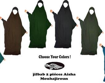 Jilbab Aisha - Muhājirūn 2-piece