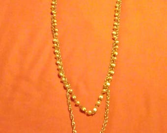 27 inch  double necklace