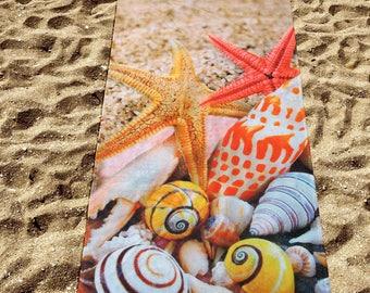 Digital Printed Beach Towel Sea