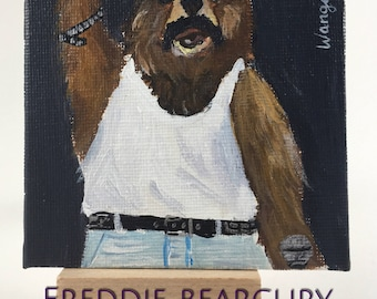 Freddie Bearcury - Famous Bears