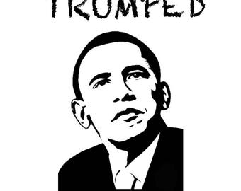 """Giclée print """"Trumped - Barack"""", limited edition of 10 from the series """"Trumped"""" by art news"""