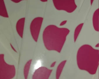 Iphone Apple logo stickers