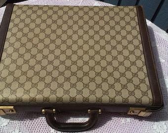 Vintage Gucci Briefcase c1978