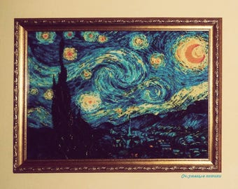 Crosstich Van Gogh