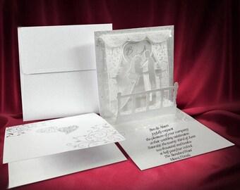 3d wedding invitation | etsy, Wedding invitations