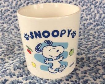 Vintage Snoopy Cup / Mug Peanuts Woodstock UFS