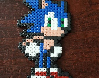 Sonic The Hedgehog Continue icon Pixel Bead Art