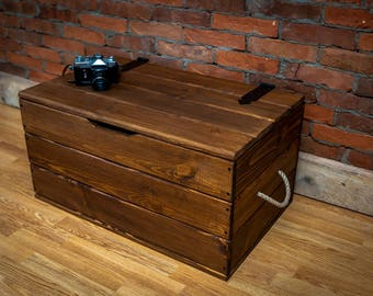 Coffee table, chest, trunk handmade